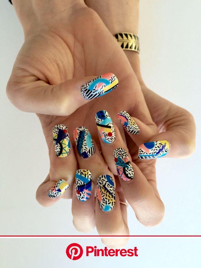 Burkholderia cepacia treatment | Diseños de uñas atrapasueños, Manicura de uñas, Uñas de gel cortas
