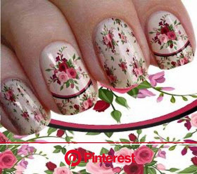 IMAGENS DE ADESIVOS DE UNHAS: 100 Imagens de Adesivos de Unhas Casadinhos Flores de Graça-E Lindos.. | Unhas, Unhas desenhadas, Unhas perfeitas