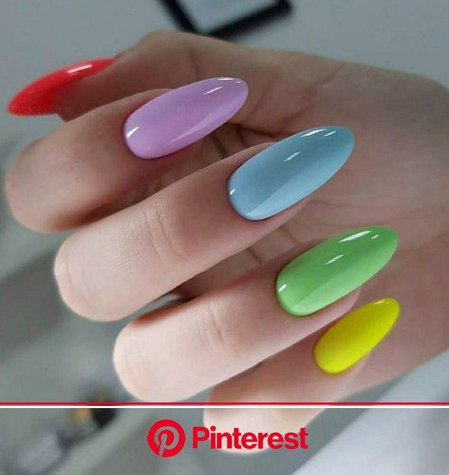 Маникюр 2020 | Ногти, Дизайнерские ногти, Гелевые ногти