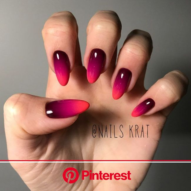 30+ Awesome Ombre Nail Designs | NailDesignsJournal.com | Ombre nail designs, Ombre nails, Nail art ombre