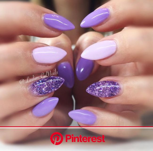 """142 Likes, 4 Comments - ❀ Leslie ❀ (@leslies.gelnails) on Instagram: """"""""Tart At Hart"""" with """"Sour Grapes"""" and """"P… 