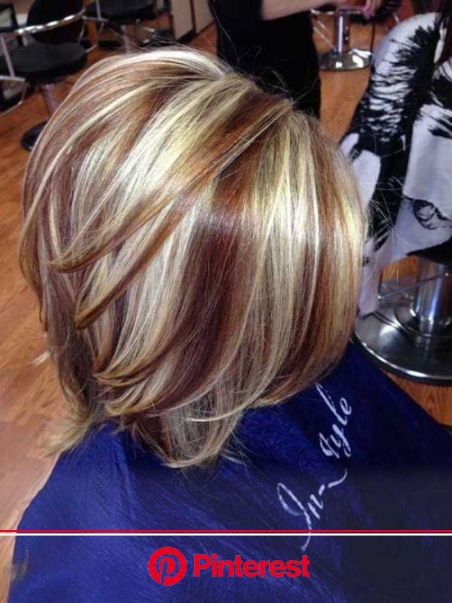 80 Marvelous Color Ideas For Women With Short Hair Hair Styles Hair Highlights And Lowlights Short Hair Highlights Clara Beauty My