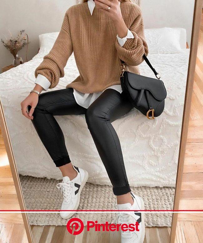 Стиль кэжуал (casual): 15 крутых образов для весны 2020 | Кэжуал зимние наряды, Осенняя одежда в повседневном стиле, Стильные наряды