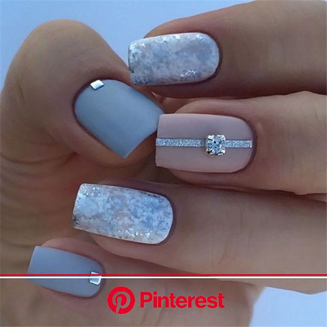 37 Spring Elegant Sqaure Matte Nails Design Ideas | Square acrylic nails, Matte nails design, Classy nails