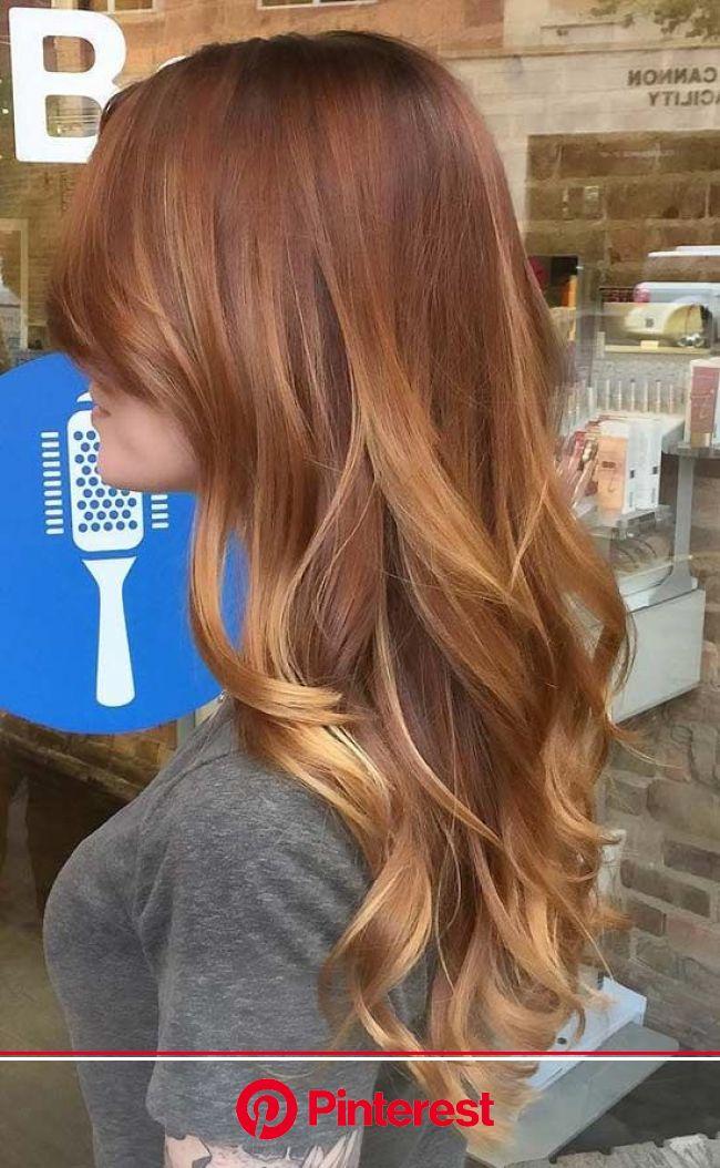 20 Amazing Auburn Hair Color Ideas You Can't Help Trying Out Right Away | Light auburn hair, Hair color auburn, Ombre hair color