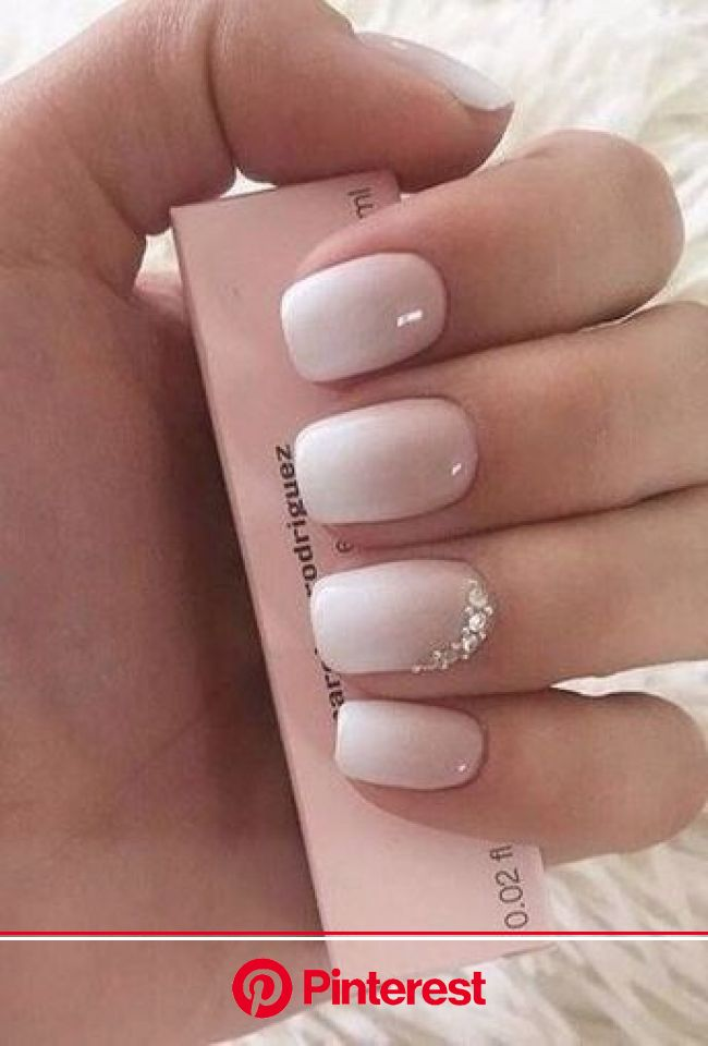 35+ Ultra Trendy January Nail Colors & Designs | in 2020 | Cute spring nails, Bride nails, Special nails