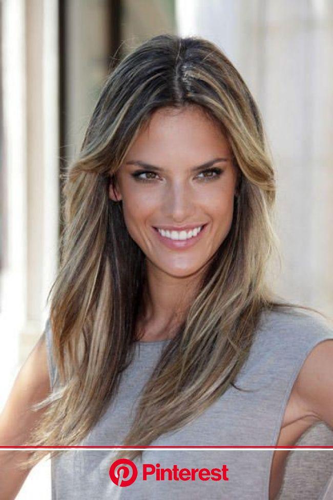 Alessandra Ambrosio #femalehairstylestrends | Hair styles, Hairstyle, Hair beauty