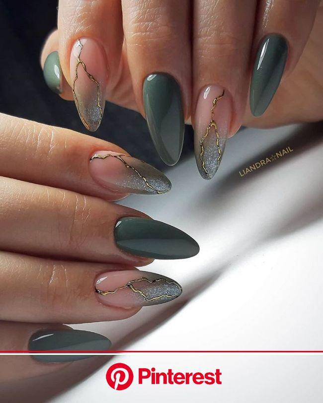 ????Nail blog Ярославы Быковой в Instagram: «@liandra_nail ⠀ ⠀ ⠀ ⠀ #красивыеногти #дизайнногтей #идеальныеблики #… в 2020г | Красивые ногти, Золотые