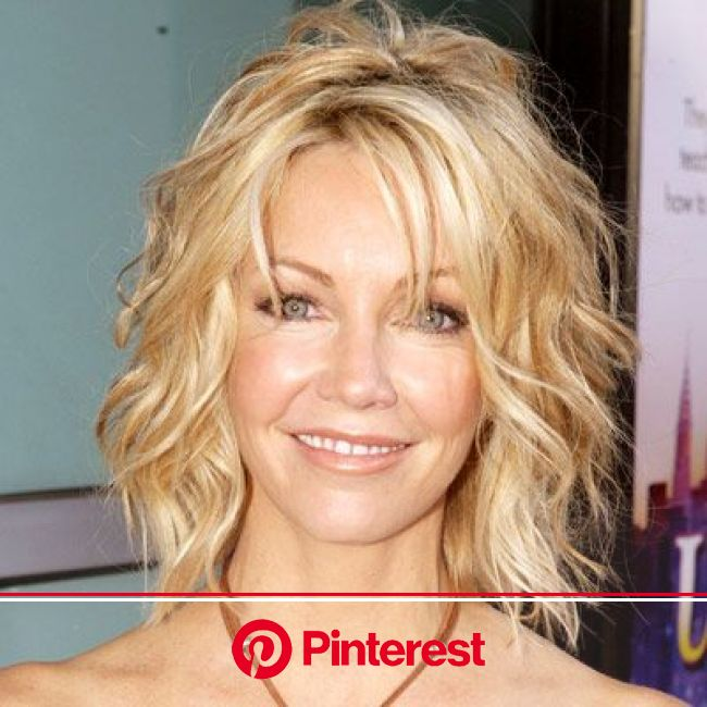 Heather Locklear's Changing Looks | Medium hair styles, Short wavy hair, Hair styles