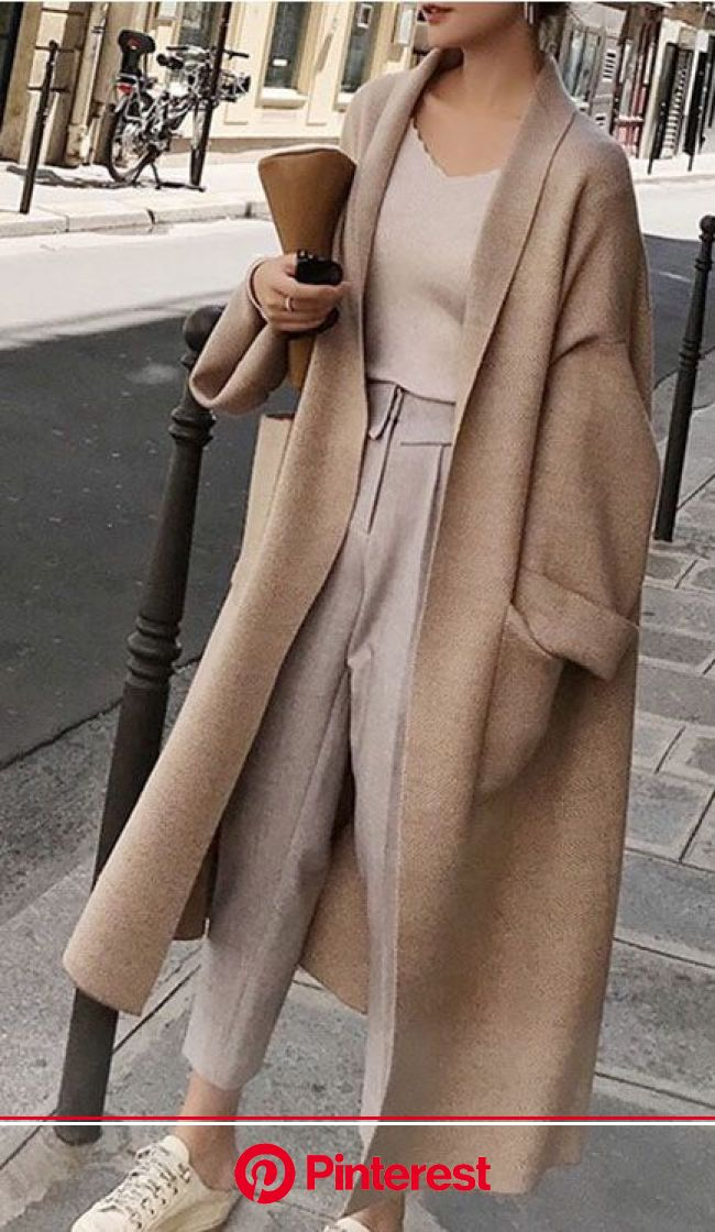 Long Loose Oversized Cardigan | Winter fashion outfits, Trendy winter fashion, Fashion inspo outfits