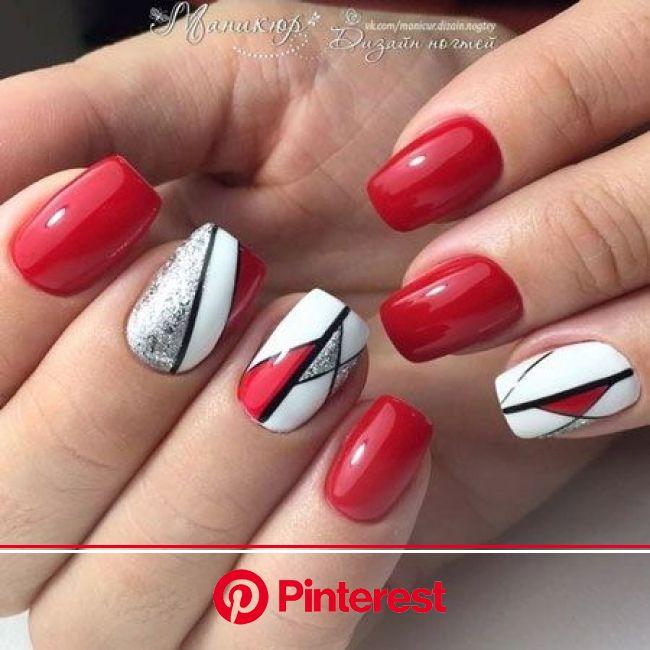 ❤️ Uñas Rojas Decoradas【Ideas para Inspirarte 2021】 | Manicura de uñas, Decoracion de uñas rojas, Diseños de uñas elegantes