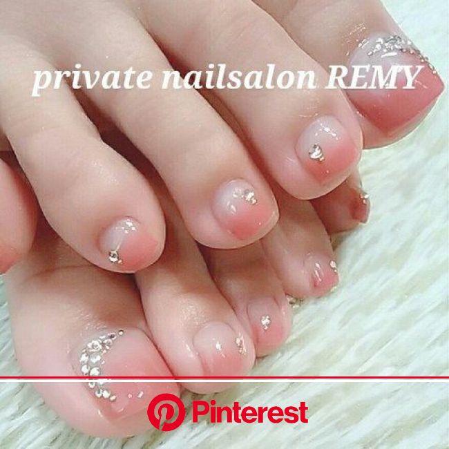 オールシーズン/パーティー/デート/女子会/フット - private nailsalon REMYのネイルデザイン[No.2286521]|ネイルブック【2021】 | つま先ネイルデザイン, フットネイル ピンク, 夏の足の爪