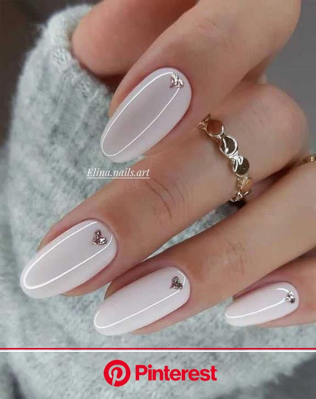 These pretty nails are just perfect for Spring | Ногти, Дизайнерские ногти, Нейтральные ногти