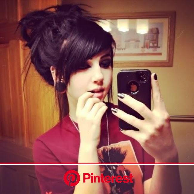 hahaa... waring this hair style right now. so adorbs, and cute, in a messy way. but like i said its so adorbs! | Hair styles, Emo hair, Scene hair