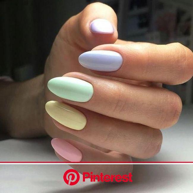 Uñas arcoíris, perfectas para recibir la primavera - Mujer de 10: Guía real para la mujer actual. Entérate ya. | Uñas arcoiris, Manicura de uñas, Uñas