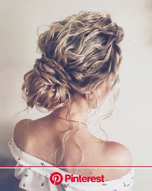 87 Fabulous Wedding Hairstyles For Every Wedding Dress Neckline | Wedding hairstyles updo, Hair styles, Wedding hairstyles