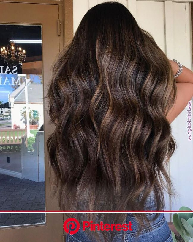 45  Fashionable Winter Hair Color Ideas | Hair styles, Coffee brown hair, Brunette balayage hair