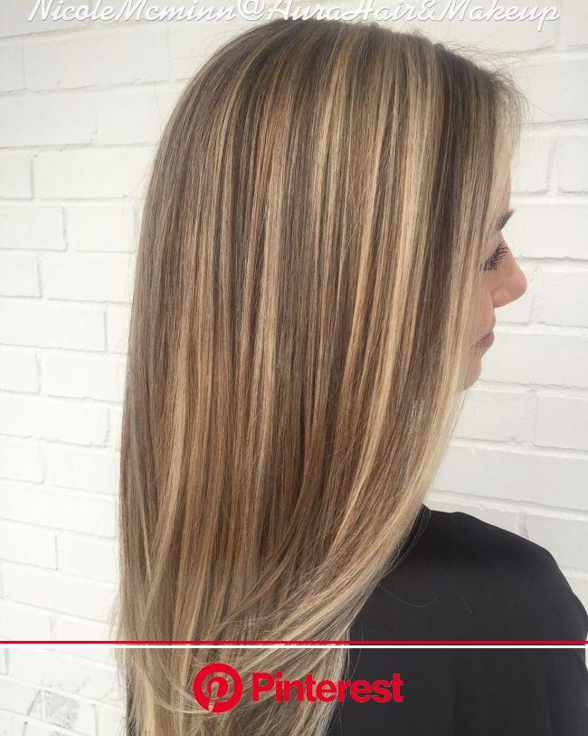 #Highlights, #lowlights and #olaplex. Colored by Nicole Mcminn- Aura Hair & Makeup Sandy Springs | Blonde hair color, Hair color highlights, Honey