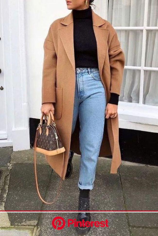 The Best Ways To Style A Turtleneck Top - Society19 | Winter fashion outfits, Trendy outfits winter, Vuitton outfit