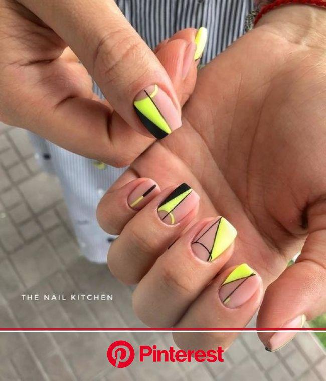 Маникюр | Ногти | Ногти, Неоновые ногти, Дизайнерские ногти