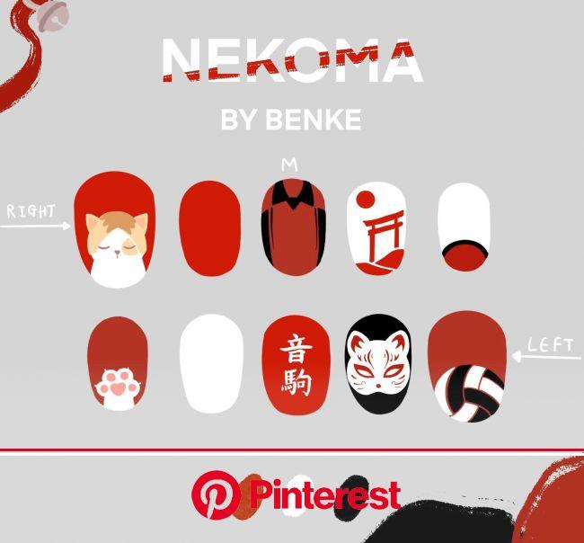 BENKE on Twitter | Японские ногти, Азиатские ногти, Маникюр в японском стиле