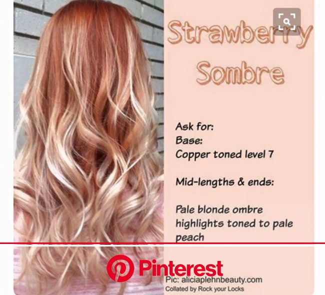 54 Hair Color Inspirations And How To Get Them! in 2020 | Hair styles, Blonde hair with bangs, Strawberry blonde hair