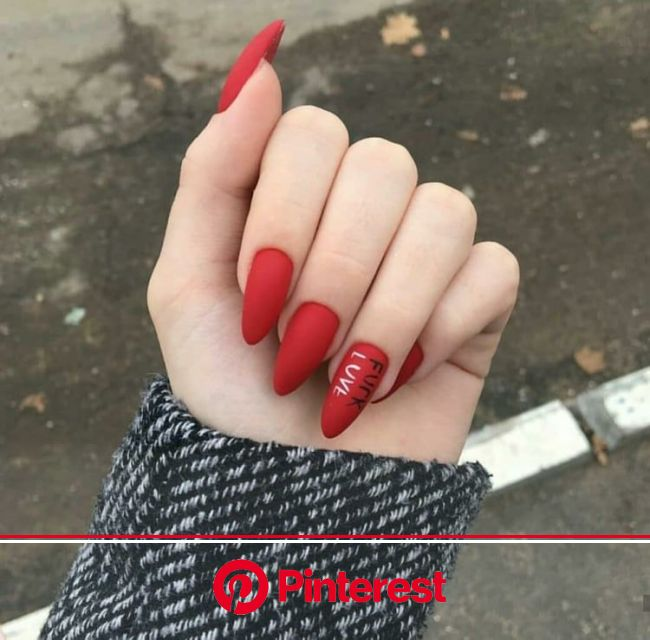 Discovered by n2srin 3bd. Find images and videos about red and nails on We Heart It - the app to get lost in what you love. | Red nails, Perfect nails