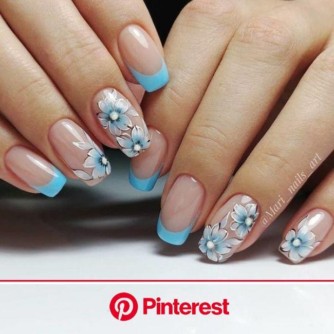 Bámulatos manikűr ötletek, ha valami nagyon különlegesre vágysz! - Bidista.com - A TippLista! | Nail designs, Floral nails, Classy nails