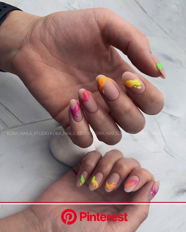 Маникюр???????? Обучение???? Челны (@koba_nails_studio) • Фото и видео в Instagram | Лунные ногти, Ногти, Акриловые ногти