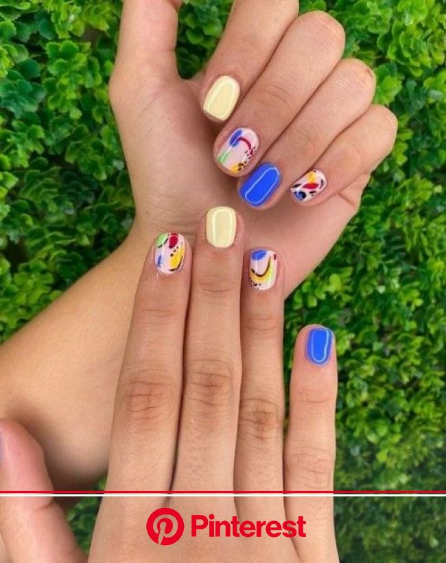 15 Cute Short Gel Nail Art Design And Ideas In 2020 - VivieHome | Fashion nails, Gel shellac nails, Chic nails