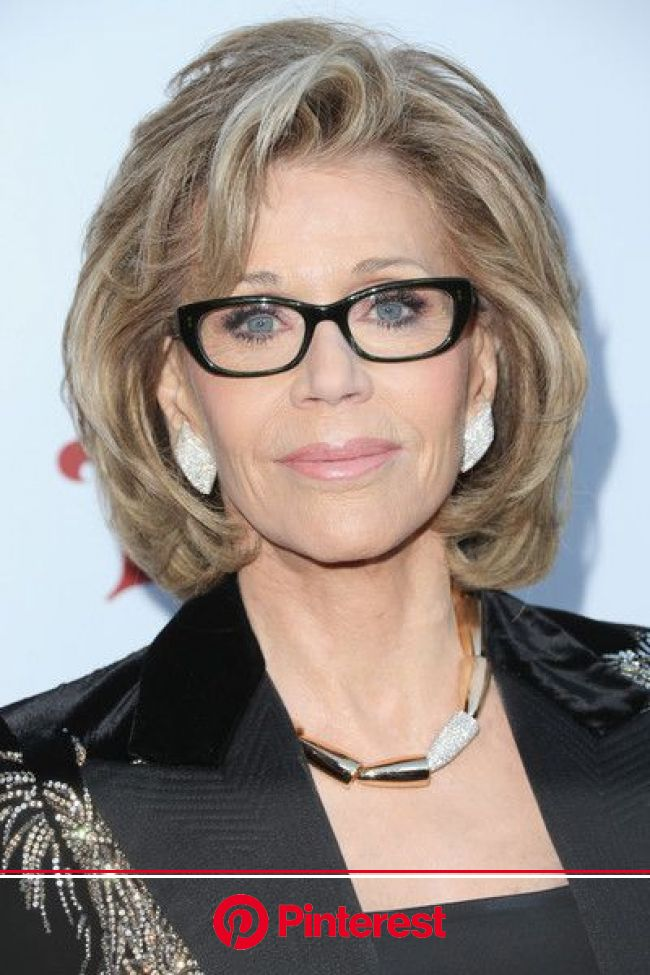 Jane Fonda Bob | Jane fonda hairstyles, Thick hair styles, Medium hair styles