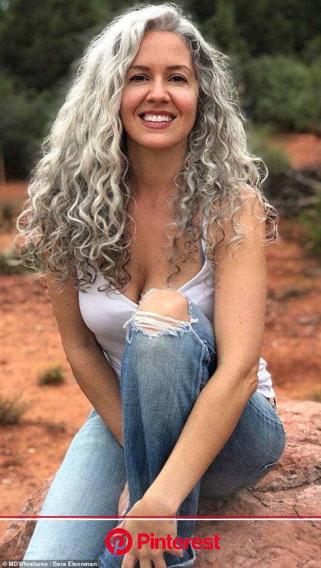 Woman feels sexier than EVER after deciding to embrace her silver hair | Grey hair styles for women, Beautiful gray hair, Long gray hair