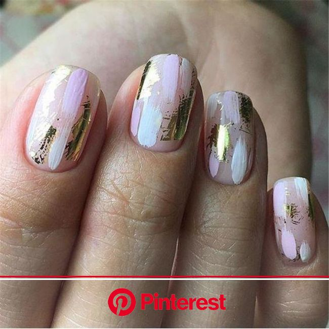 50+ Simple and Easy Ombre Waterfall Nails Ideas | Rose gold nails, Nails, Manicure