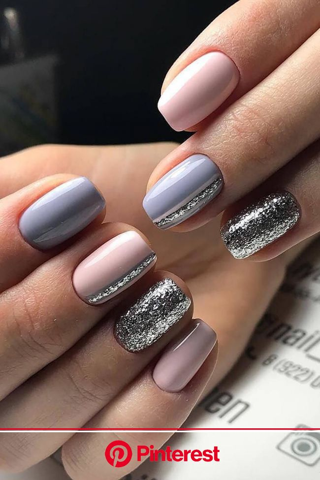 Glitter is not just for the stars | Nails, Gel nails, Gel nail art