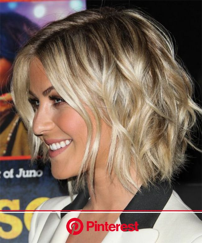 Julianne Hough Medium Straight Hairstyle | Short hair bride, Medium hair styles, Hair lengths