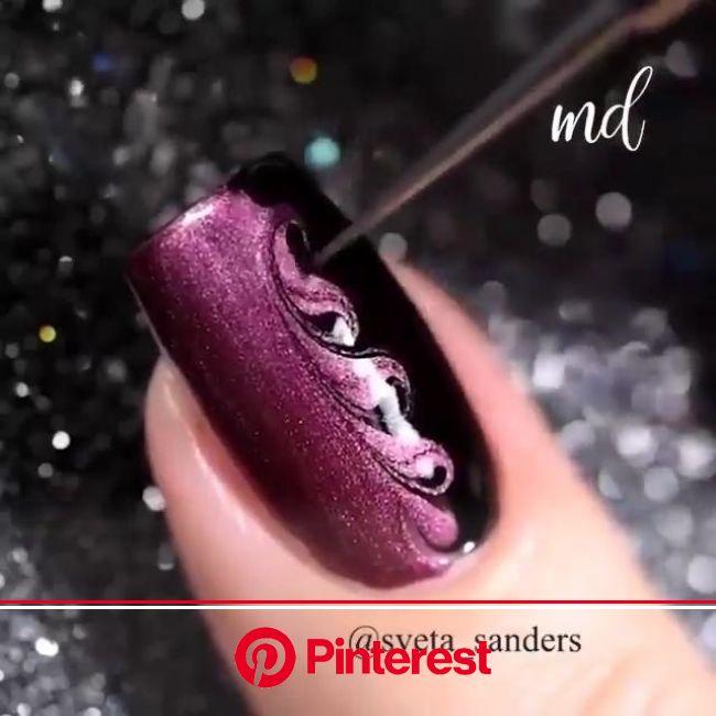 Mind Blowing Nail Art [Video] in 2020 | Gel nails, Nail art, Nail designs