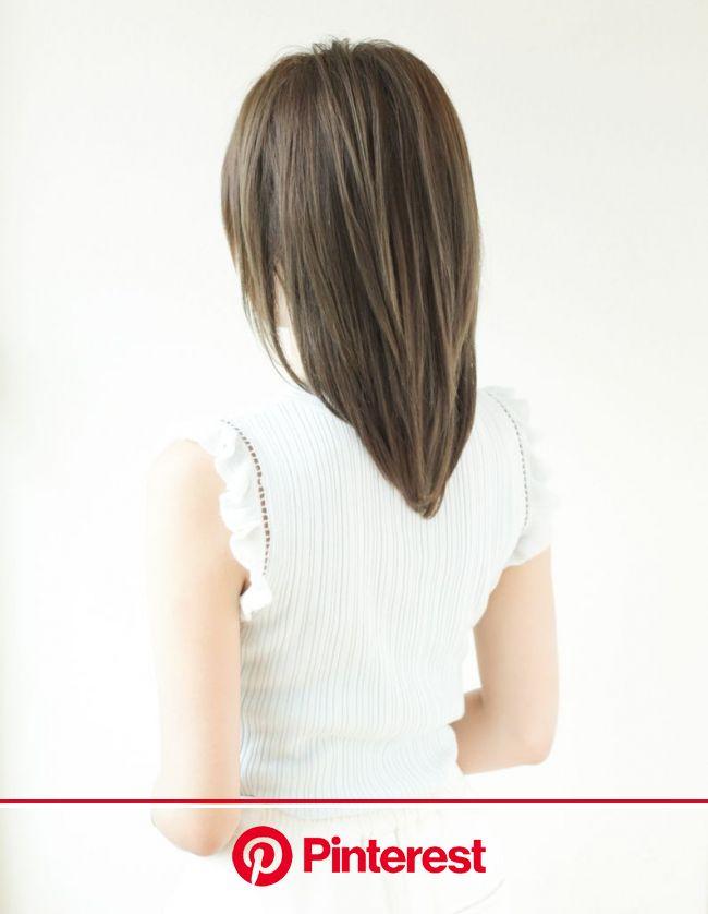 小顔デザインのスマートミデイアム(YR-415) | ヘアカタログ・髪型・ヘアスタイル|AFLOAT(アフロート)表参道・銀座・名古屋の美容室・美容院 | レイヤーカットヘア, 髪型, ヘアスタイル