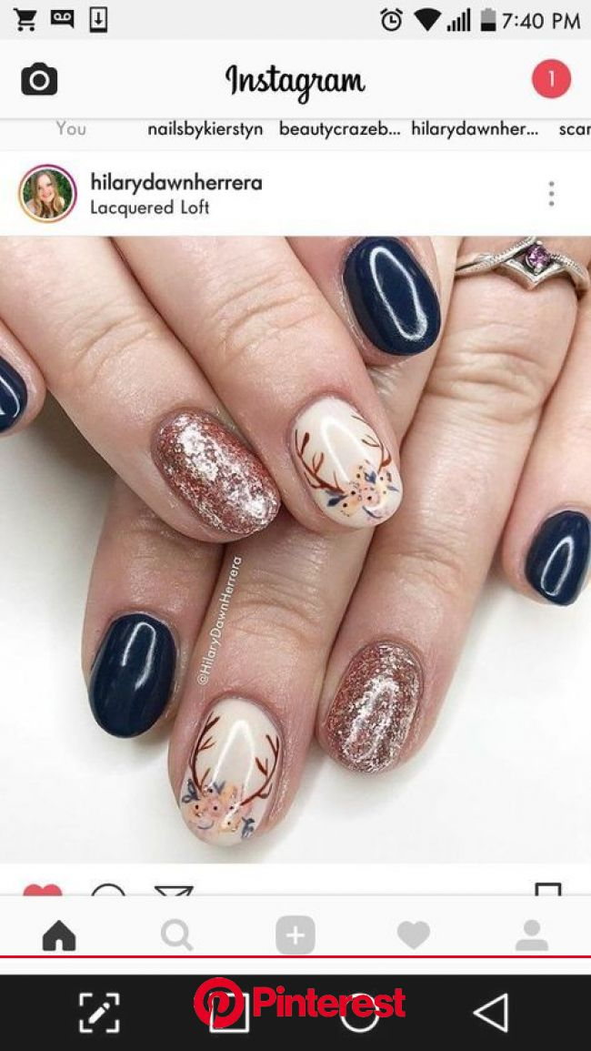 nail art Nail art Christmas - the festive spirit on the nails. Over 70 creative ideas and tutorials nel 2021 | Unghie natalizie, Unghie, Unghie gel