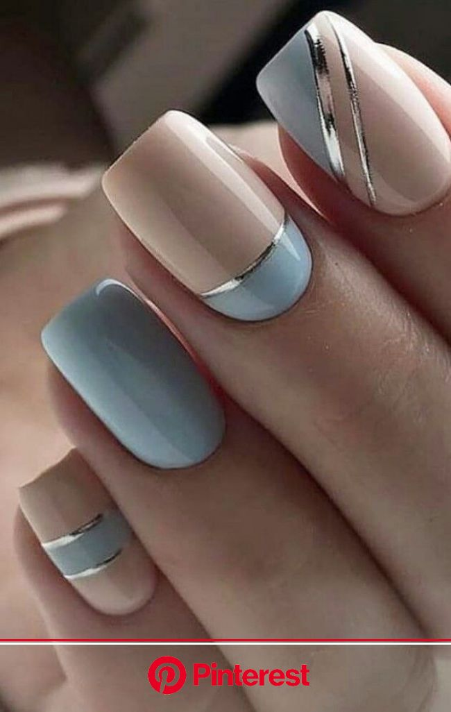 Adding care to your nails and shine to your style. #grunge #nails in 2020 | Short acrylic nails designs, Chic nails, Pink nails