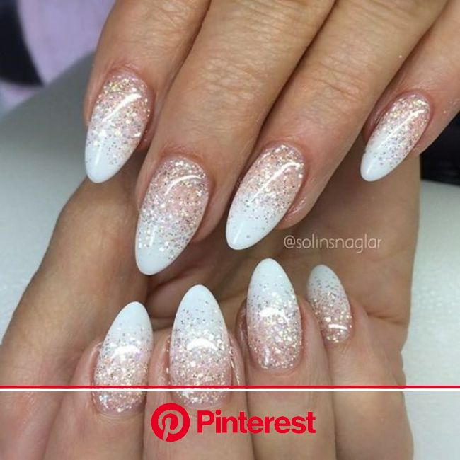 60 Stunning Prom Nails Ideas To Rock On Your Special Day » EcstasyCoffee | White acrylic nails, Gorgeous nails, Prom nails