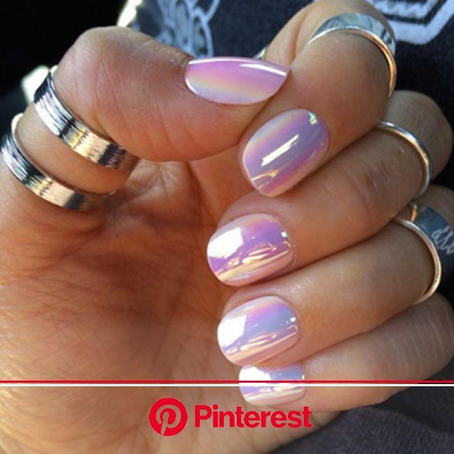 Unicorn Nails! - Source? | Metallic nails, Cute nails, Hair and nails