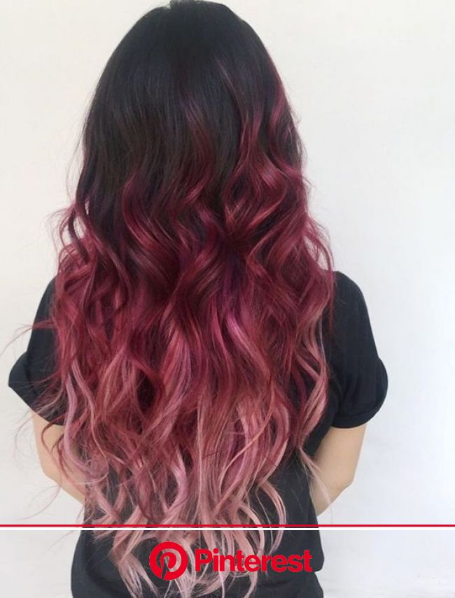 Fashionable hair color 2019 for long hair: Basic trends and trends on the market - Beauty Haires | Cool hair color, Hair styles, Long hair styles