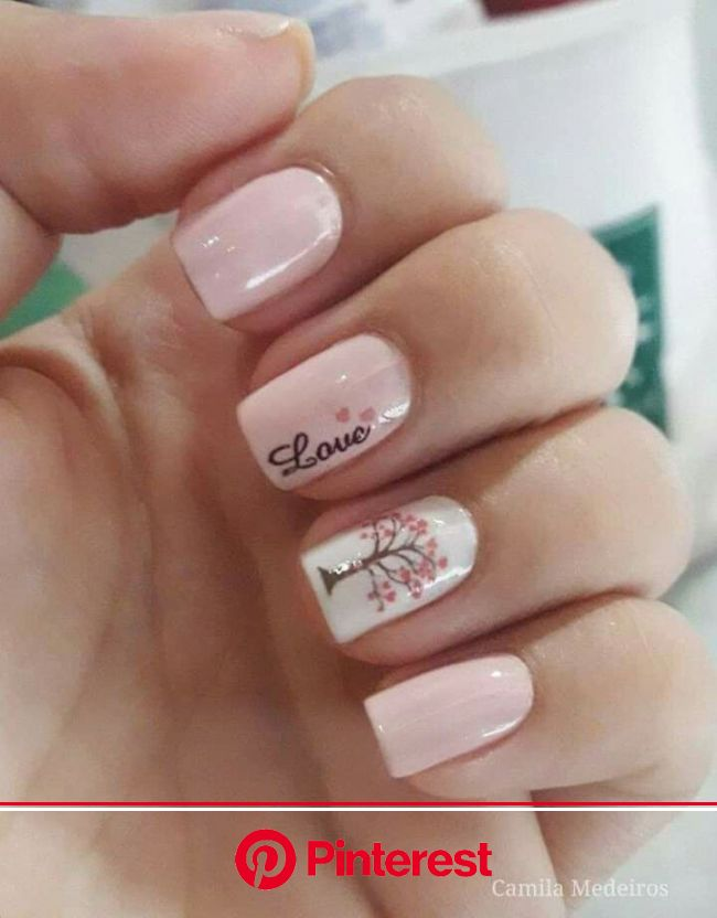Pin by Minnie White on Naels in 2020 | Pink nails, Cute acrylic nails, Short acrylic nails