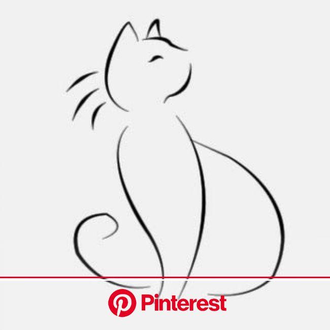 Zeichnen | Schizzo di gatto, Tatuaggi raffiguranti piccoli gatti, Idee per tatuaggi