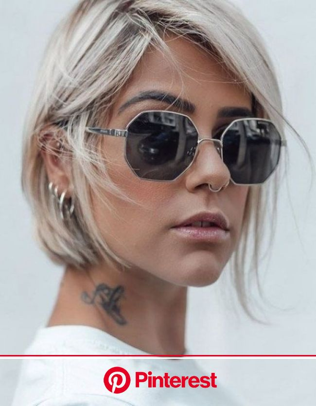 Unique & Fresh Short Hairstyles & Highlights In 2020 in 2021 | Short thin hair, Edgy short hair, Short hair trends