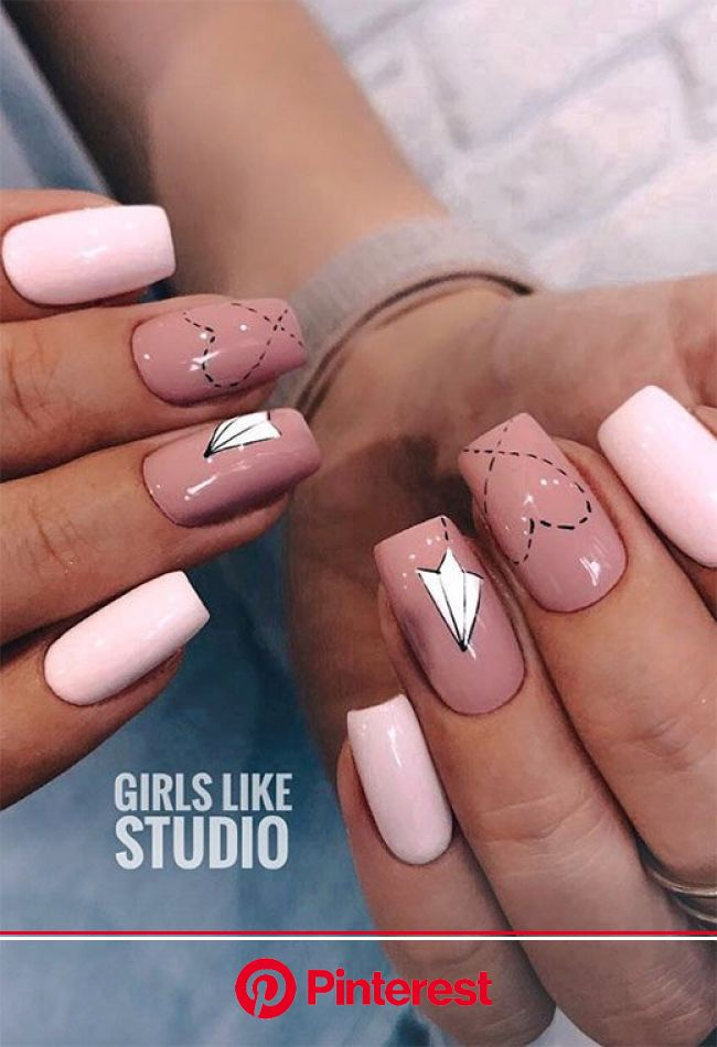 33 Valentine's Day Nails to Spark Love in 2021: V-Day Nail Designs | Swag nails, Nail designs valentines, Stylish nails