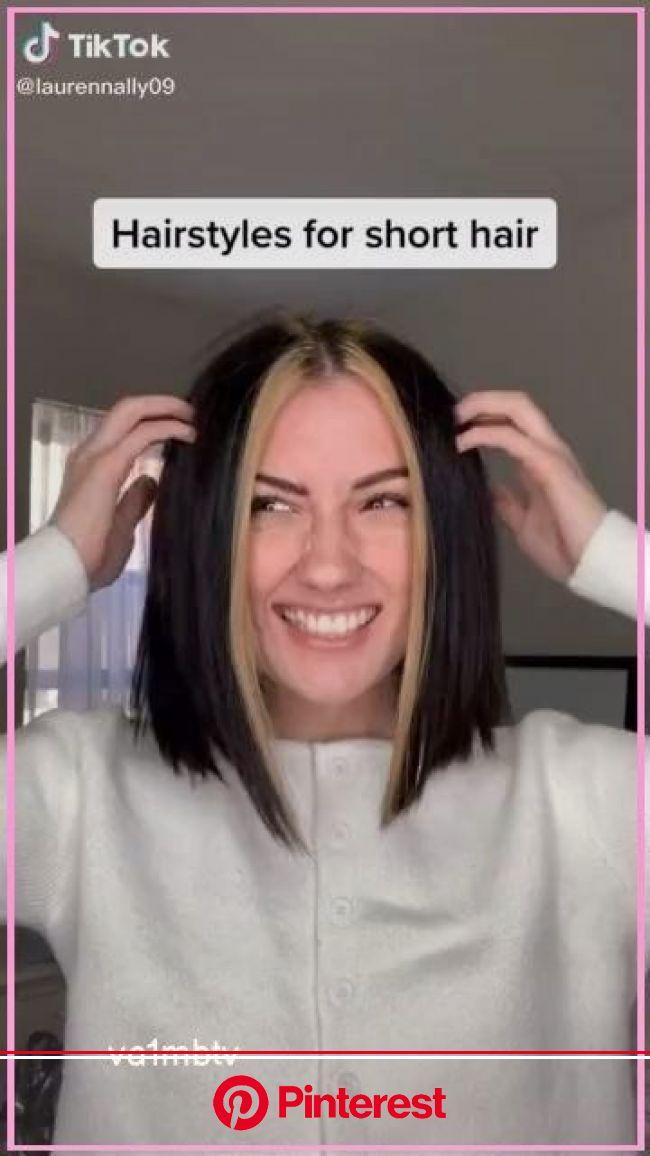 Adjustable Crystal Double Heart Bow Bilezik | Etsy in 2020 | Short hair styles, Very short hair, Hair highlights
