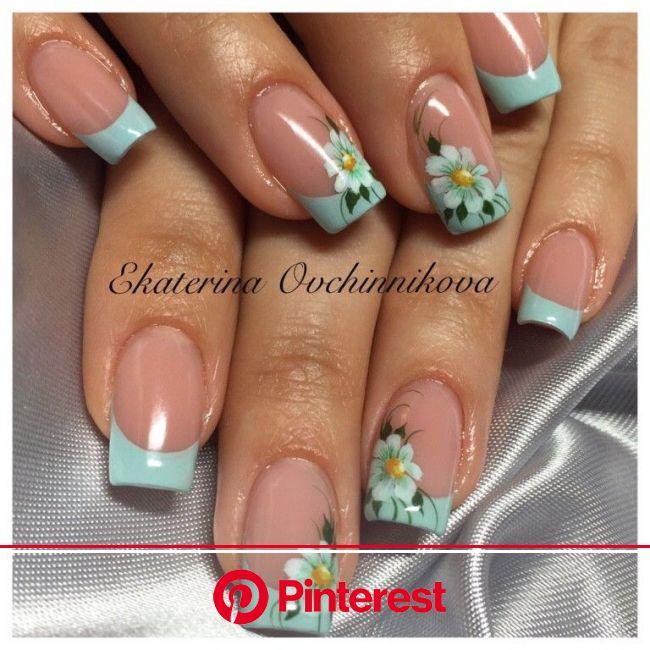 Фотография | Зеленые ногти, Узоры для ногтей, Модные ногти