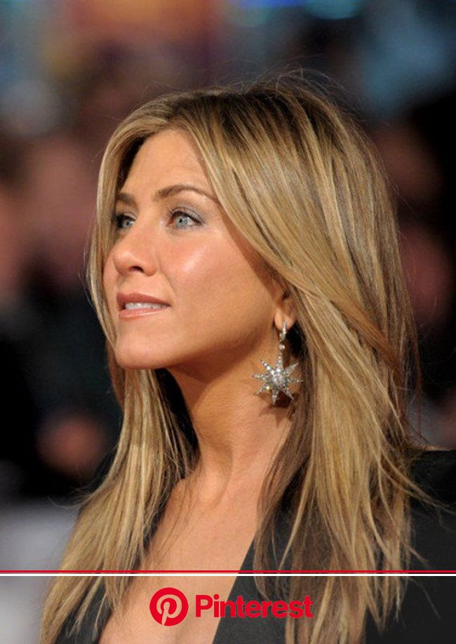 Jennifer   Aniston Inspired Star Burst Earrings | Jennifer aniston hair color, Jennifer aniston hair, Jennifer aniston style