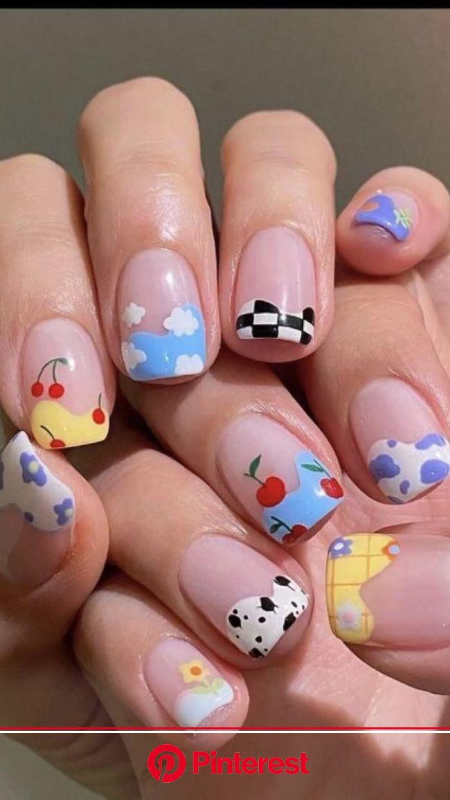 Summer nails art | Pinterest